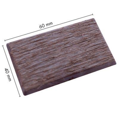 Tapa Madera Plastica WPC Ekowood H60-40  Nogal