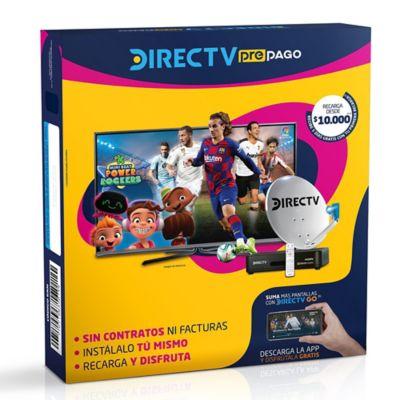 DirectTV Suscripción Prepago - 1 Decodificador HD