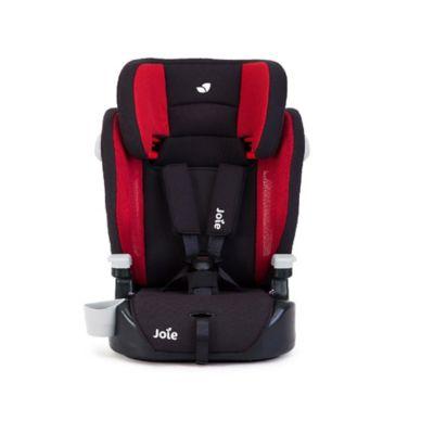 Silla de Carro para Bebe Elevate Grupo 1,2,3 con Portavaso Rojo