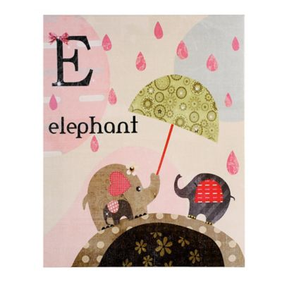 Cuadro Canvas Elefante 28x28 cm
