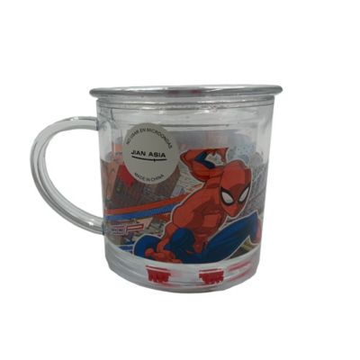 Mug Glitter Spiderman