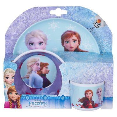 Vajilla 3 Piezas Melamina Frozen 2
