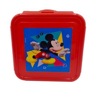 Recipiente Cuadrado 450ml Mickey