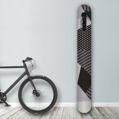 Soporte de Pared para Bicicleta Black And White Art