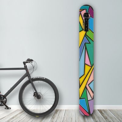 Soporte de Pared para Bicicleta Diseño Hammered Glass