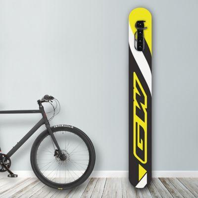 Soporte de Pared para Bicicleta Diseños Gw Black/Yellow