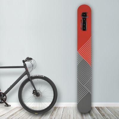 Soporte de Pared para Bicicleta Diseño Lines Red/Gray