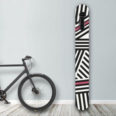 Soporte de Pared para Bicicleta Black/White Stripes
