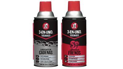Lubricante de Cadenas 236 ml/8 oz. + Limpiador de Frenos 300 ml/10.1 oz. - Twinpack