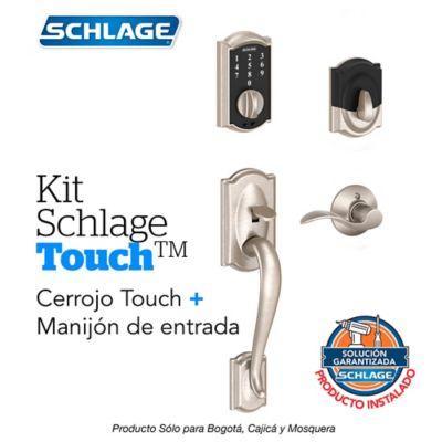 Kit Touch Camelot Satín + Manijón Derecho + Instalación