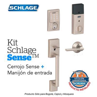 Kit Sense Century Satín + Manijón + Instalación
