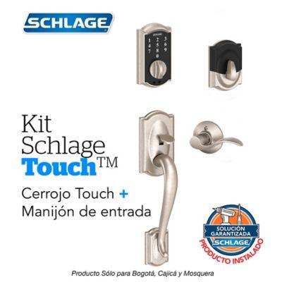 Kit Touch Camelot Satín + Manijón Izquierdo + Instalación