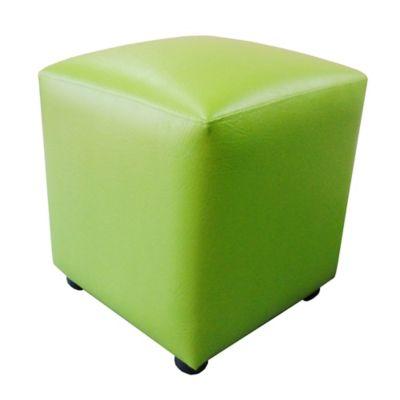 Puff Cubo 40x40x43 Verde Lima