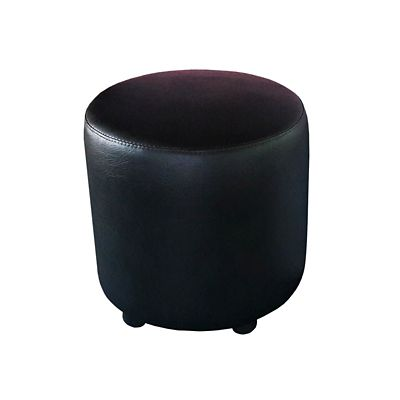 Puff Circular 42x40x40 Negro