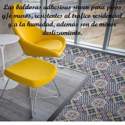 Pisos Decorativo Adhesivo Sevilla (33X33)