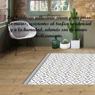 Pisos Decorativo Adhesivo Siena (33x33) Paqx6und Cubrimiento 0,65m2