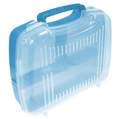 Organizador Plástico Wacky Lonch División Azul Claro