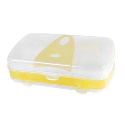 Organizador Plástico Wacky 3D Oval Amarillo