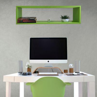 Repisa Rect 83x25x22 cm Verde Limon