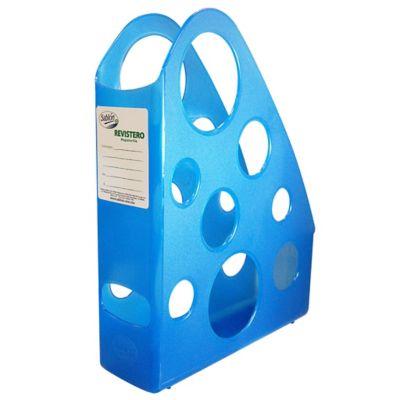Revistero Plástico Ibex Mac Azul