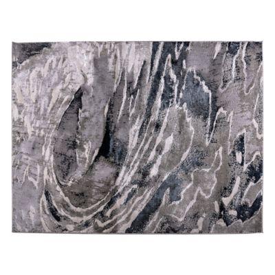 Tapete Chalon 120X170cm Sterling - Negro