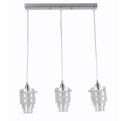 Lámpara Colgante New Boston 3 Luz E14
