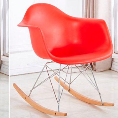 Silla Eames Mecedora 70x62.5x40 Rojo
