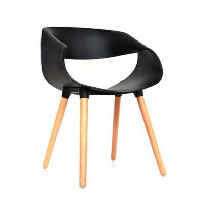 Silla Nordic 54.5x63x73 Negro