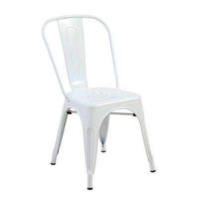 Silla Turca 35x34x85 Blanco