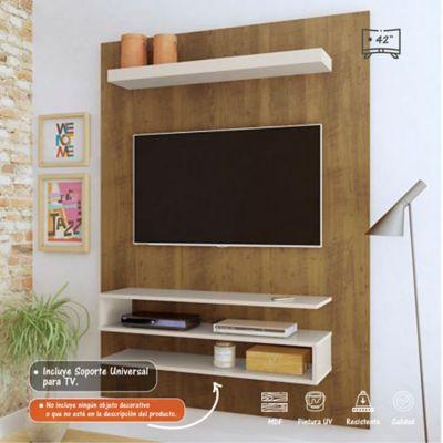 Panel Orion para TV de Hasta 42 Pulgadas 120x28x160 Pino/Blanco