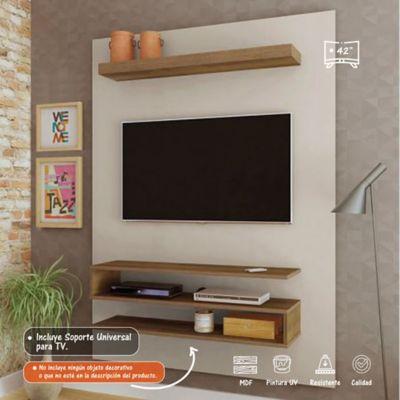 Panel Orion para TV de Hasta 42 Pulgadas 120x28x160 Blanco/Pino