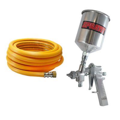 Aerografo de Gravedad Sprayit600 + Manguera Compresora 200 lbs