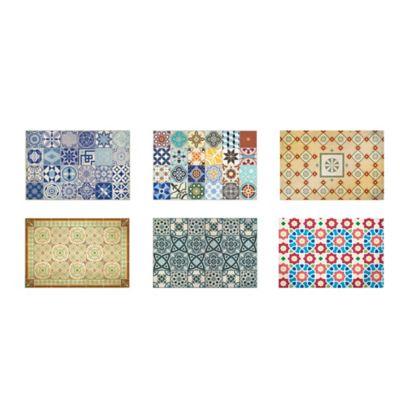 Set x6 Individuales Mosaico 28.5x44cm