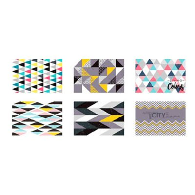 Set x6 Individuales Modern 28.5x44cm