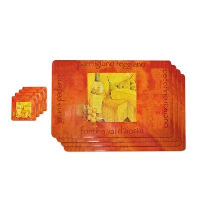 Set x4 Individuales Sponge 03 28.5x44cm + Portavasos