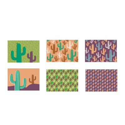 Set x6 Individuales Cactus 28.5x44cm