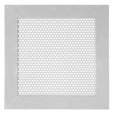 Rejilla Vent Aluminio Perforada Redon 15X15 Gris