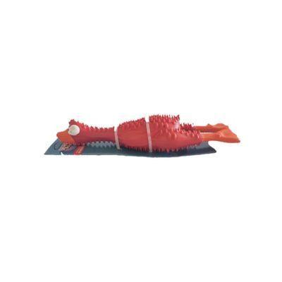 Pato en Goma Color Rojo