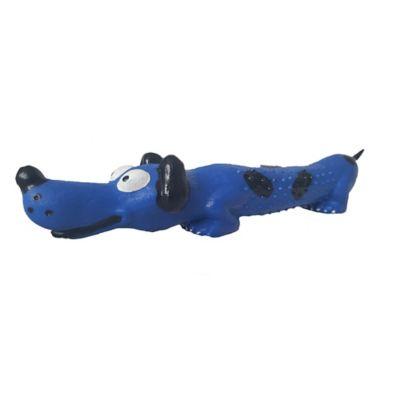 Perrito en Goma Color Azul