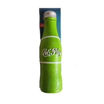 Botella en Goma Con Sonido Sqrunch Color Verde