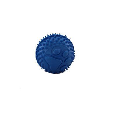 Mini Pelota en Goma para Perro Color Azul