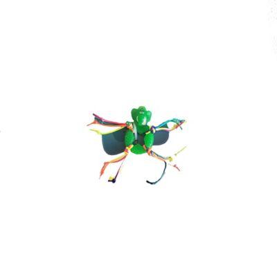 Juguete en Goma y Flecos Color Verde