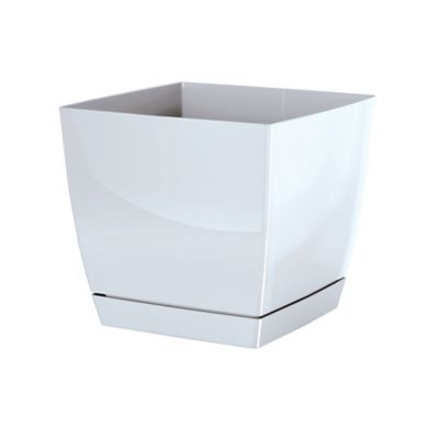 Matera Cuadrada 24 x 22 cm Blanco