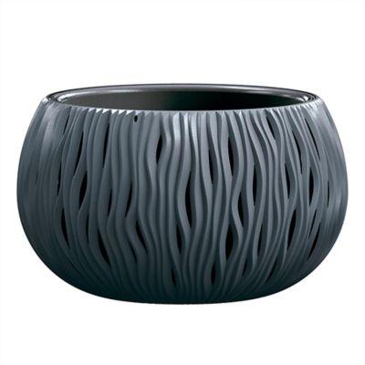 Matera Redonda Bowl 37 x 21 cm Negro