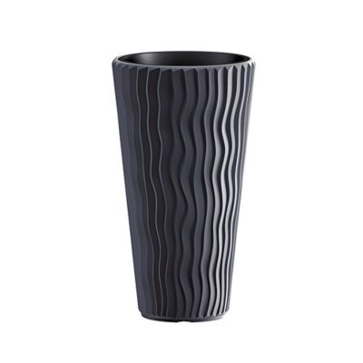Matera Cónica Sandy 30 x 51 cm Negro
