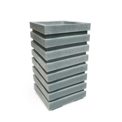 Matera Columna Polietileno 35 x 35 x 60 cm Gris Piedra