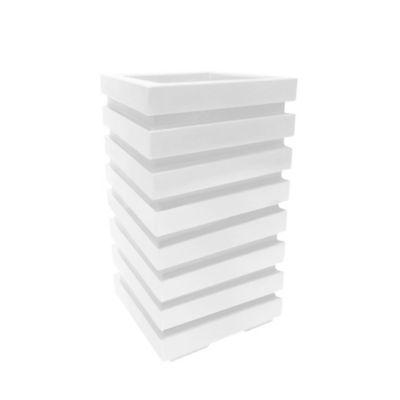 Matera Columna Polietileno 35 x 35 x 60 cm Blanco