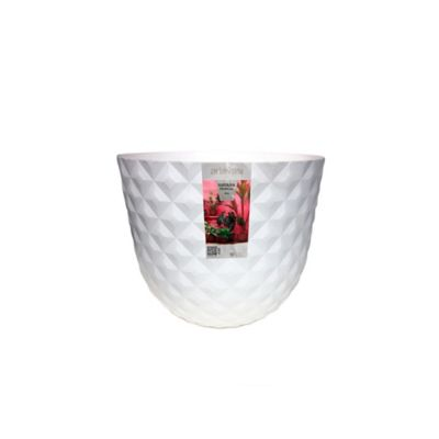 Matera Tropical 30 x 25 cm Blanco