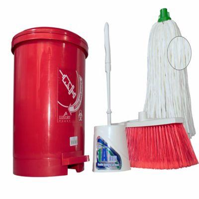 Combo Limpieza Rojo