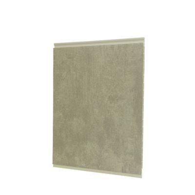 Cieloraso pvc 9m2 concreto, lámina de 3m x 25cm, Paq x 12 láminas